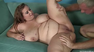 A big dick for this BBW relative to a hot unskilled cam play