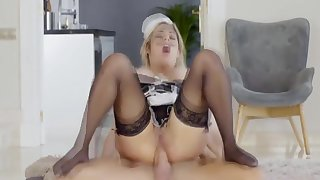 Mia Linz, French Maid Pidgin Say No