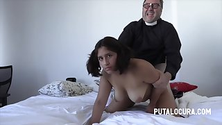 18 Years Old - Fat Latina Whore Screwed By Old Revile