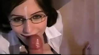 MILF Head #75 (On her Knees dressed as a Instructor Girl)